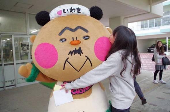 女子大生にも人気(いわき フラ次郎facebookページより)