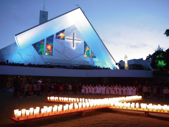 山口サビエル記念聖堂(「クリスマス市山口」ウェブサイトより)