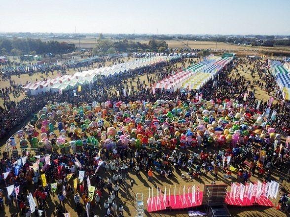 11月23日の集合写真(羽生市ウェブサイトより)