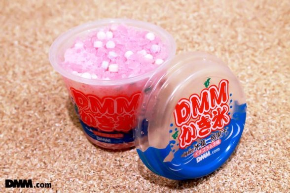 「DMMかき氷」(画像提供:DMM.com)