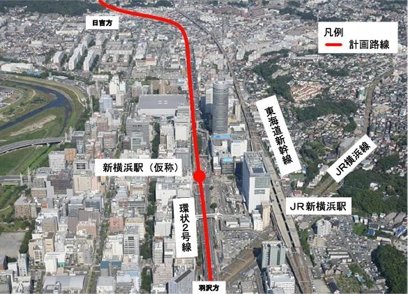 新横浜駅の裏側はどうしてあんな...