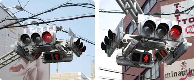 大須にある信号機(なごや大須商店街公式ホームページより)