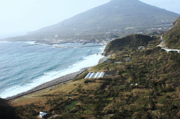 自然豊かな八丈島の風景