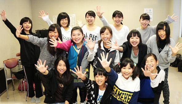 駿府大御所美少女隊、第1期メンバー(画像提供「NPO法人和っしょい・夢街道」)
