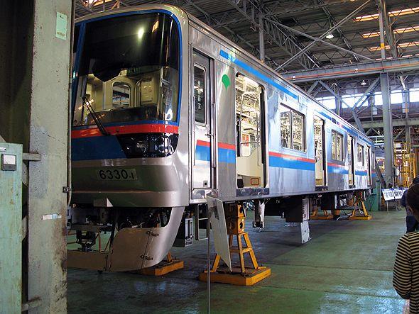 都営三田線の車両基地内にある工場(写真は編集部撮影)