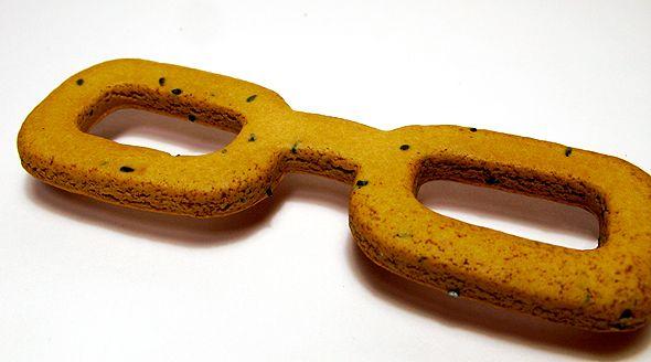 眼鏡堅麺麭(写真は全て編集部撮影)