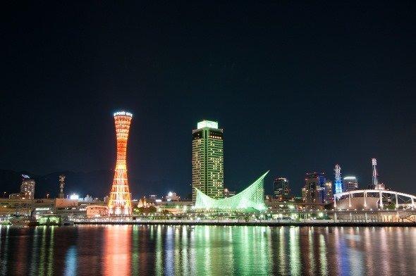 「1000万ドルの夜景」と称される神戸市の夜景