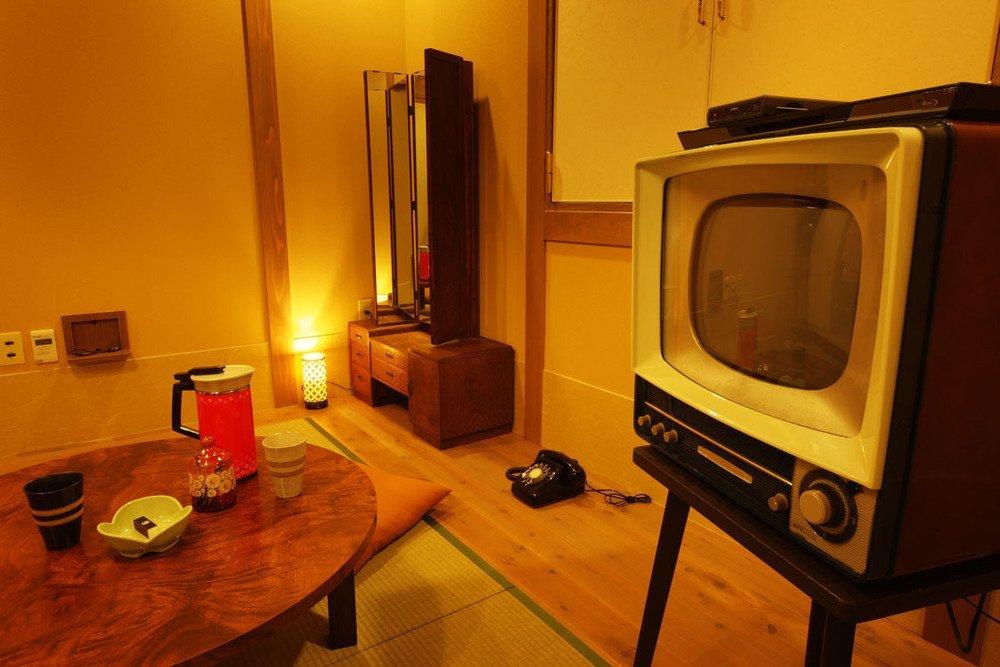 昭和30年代風の207号室。3つ星