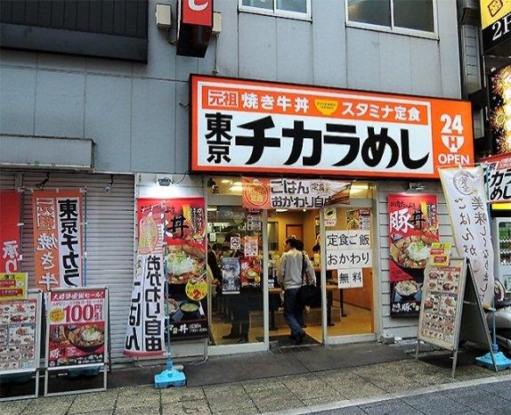 現在も営業中の「東京チカラめし 新宿西口1号店」(編集部撮影)