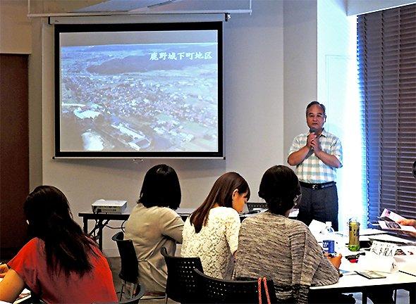 鳥取市鹿野地区:いんしゅう鹿野まちづくり協議会副理事長・小林清さん
