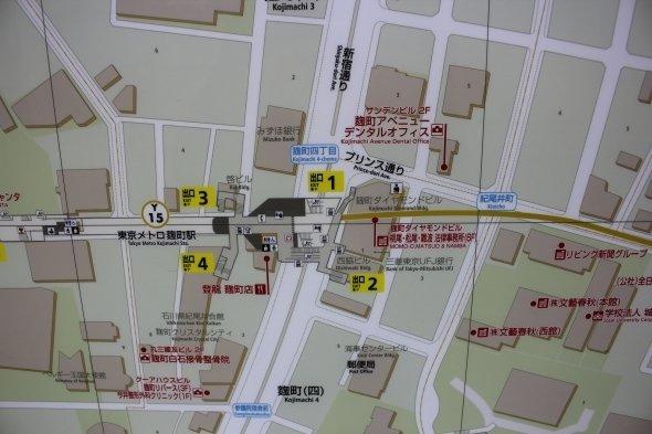 地図の表記は地名含め旧字体