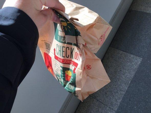 ふたつの紙袋