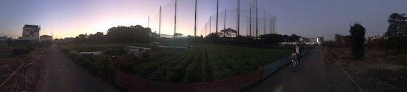 iPhoneで撮影したパノラマ写真