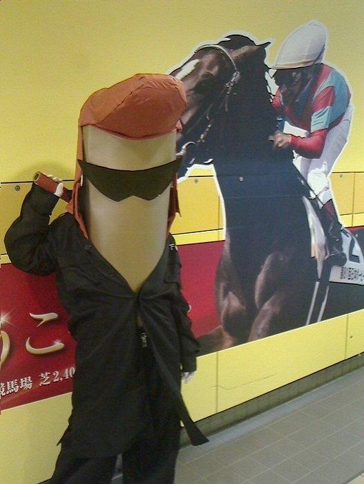 東京競馬場でのいもッキー