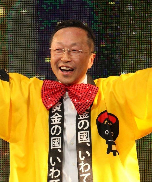 「ニコニコ超会議3」関連イベントに岩手県代表として出席した際の保さん(14年4月)