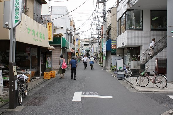 これが、カミキタのメインストリート