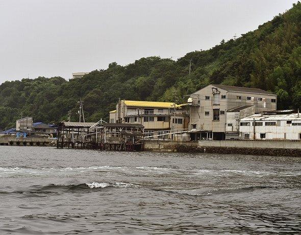 島はまさにイリコの要塞