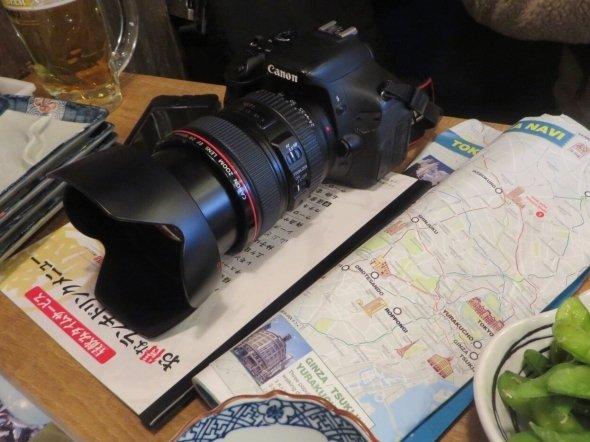 地図とカメラを携えて...