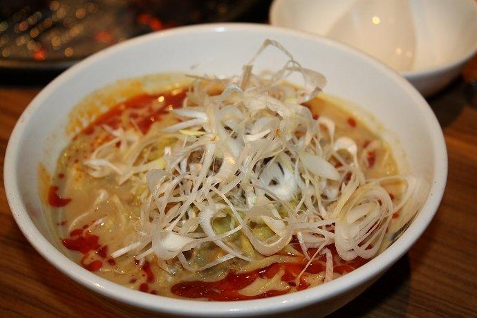 山椒のシビカラ具合とクリーミーなスープがベストマッチ