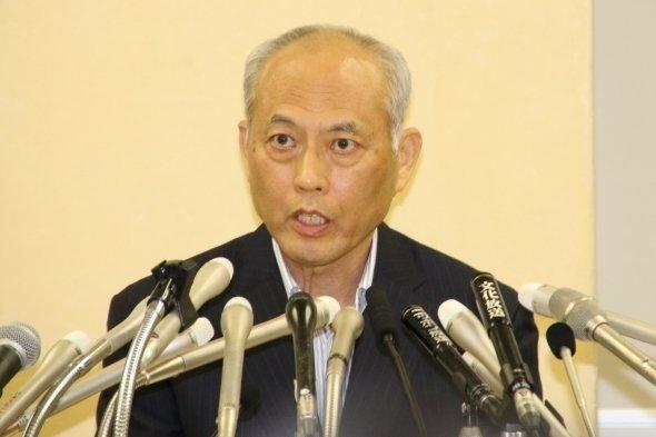 第三者の調査結果を発表する舛添都知事(6日、J-CASTニュース編集部撮影)