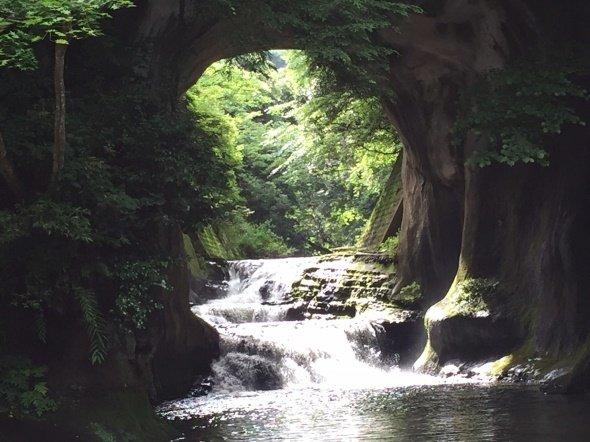 濃溝の滝(写真は編集部撮影)