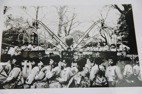 昭和37年当時(1962年)の遊園地