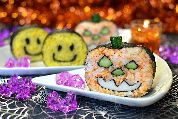 絵巻き寿司