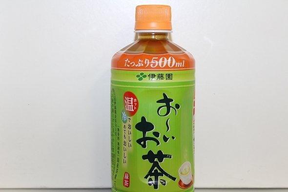 お〜いお茶 緑茶 ホットPET 500ml
