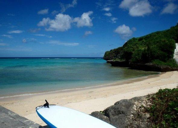 沖縄の海(以下、筆者撮影)