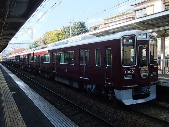 阪急電鉄1000系(TRJNさん撮影、Wikimedia Commonsより)