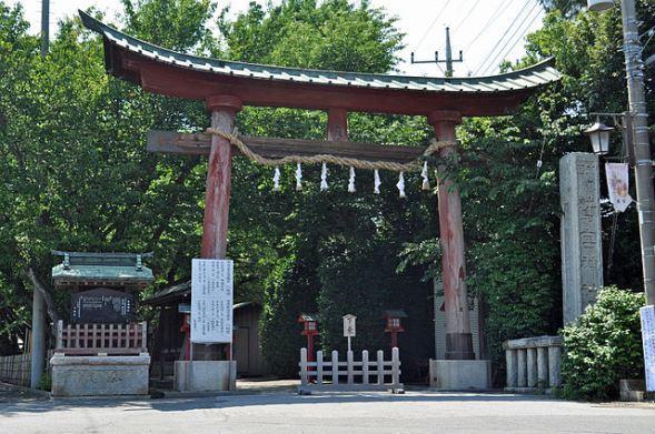 鷲宮神社(Ocdpさん撮影、Wikimedia Commonsより)