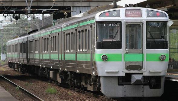 JR北海道721系電車(JAL EXPRESSさん撮影、Wikimedia Commonsより)