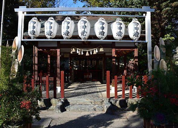 別小江神社(Baristonさん撮影、Wikimedia Commonsより)
