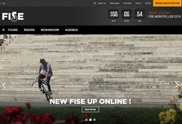 FISE公式ウェブサイトより(英語、フランス語)