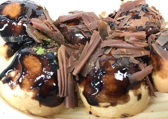 「たこ焼きになりたかったチョコ饅頭」(写真はJタウンネット編集部撮影)