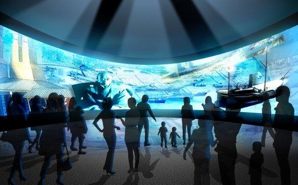幕末維新記念館・館内イメージ