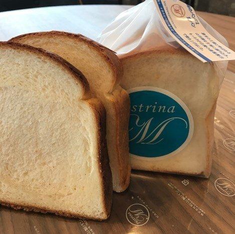 『山田錦のパンドミ食パン』345円