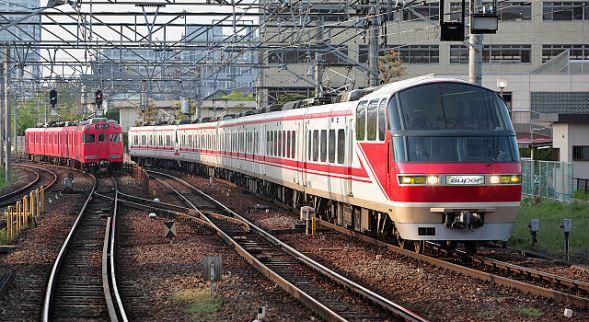 名鉄名古屋本線。写真はイメージです(Tennen-Gasさん撮影、Wikimedia Commonsより)