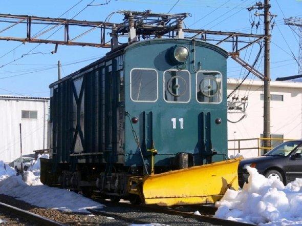 福井鐵道的高齡除雪車