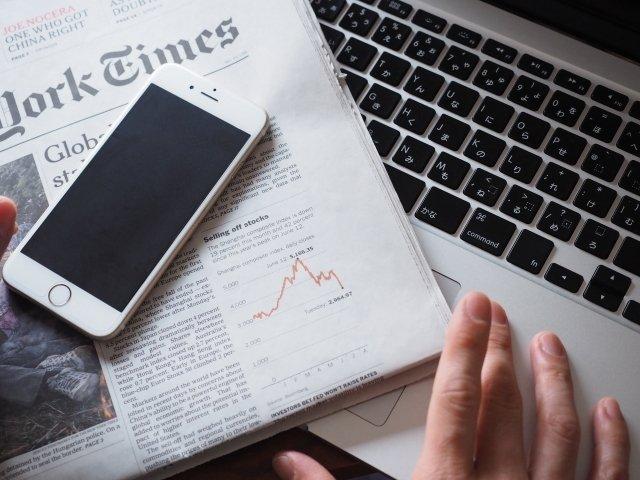 在網上看新聞的人比閱報的多,卻不信任網上看的新聞