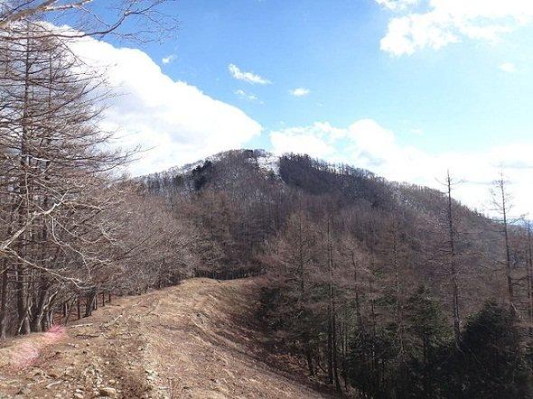 ものすごく特徴的な山、という感じではない七ツ石山(Koda6029さん撮影, Wikimedia Commonsより)