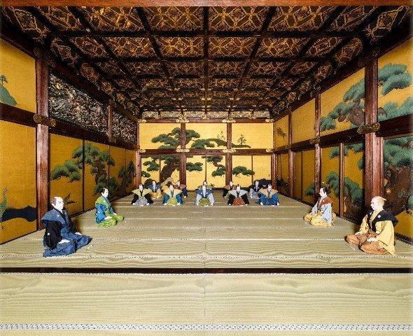 二条城二の丸御殿大広間元画像(画像提供:京都市交通局)