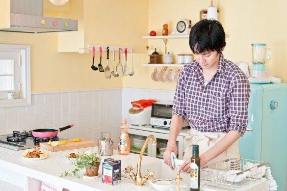 キッチンの後片付け(写真はイメージです)