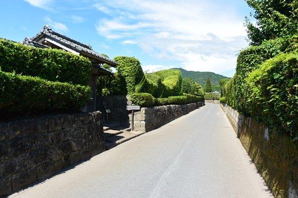 知覧武家屋敷通り(画像提供:南九州市)