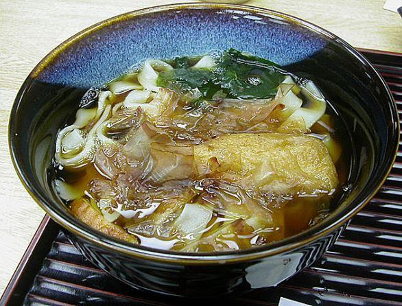 きしめん(小太刀さん撮影、Wikimedia Commonsより)