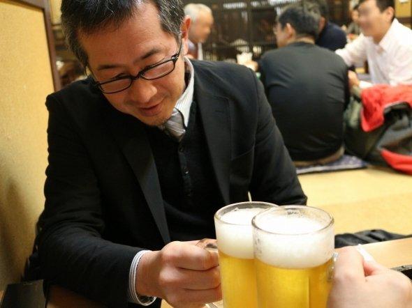 【19時6分】見ての通り、完璧なジョッキビール!