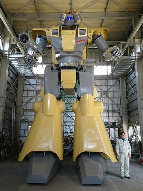 巨大ロボ「LW MONONOFU」(画像は同社公式ホームページより)
