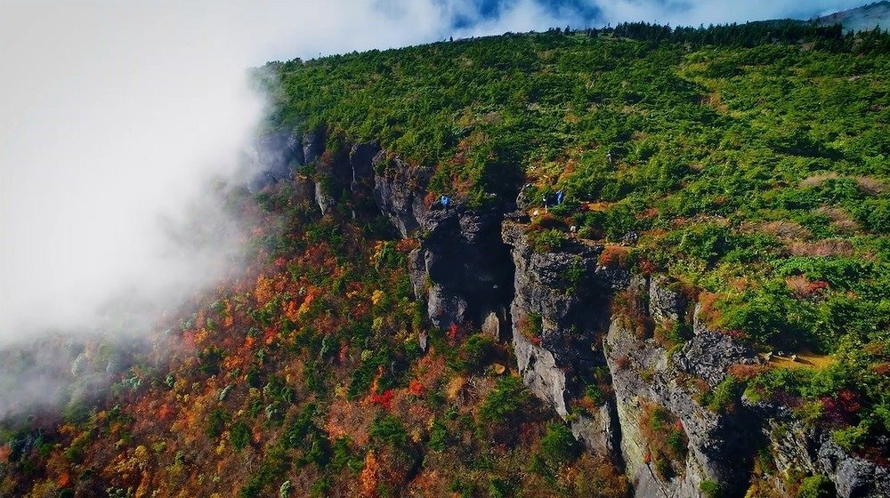 福島県の安達太良山(画像は福島県観光交流課提供)