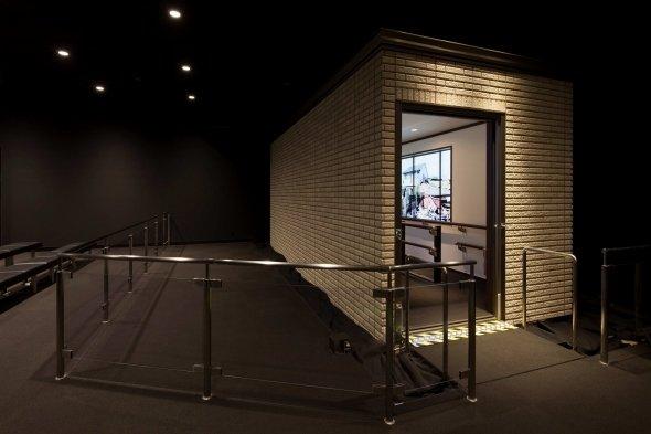 ハイムミュージアムでは地震体験ができる
