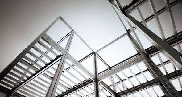 ユニットの組み合わせによるボックスラーメン構造